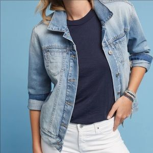 Anthropologie Pilcro BF Denim Jacket